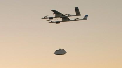 Project Wing: kommerzielle Drohnenflüge in den USA kaum realisierbar
