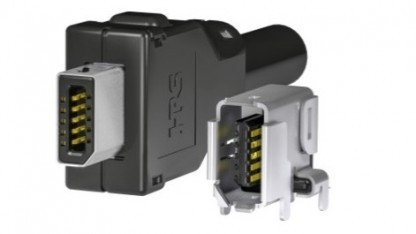 Der Steckerteil der ix-Verbindung ist kaum größer als das Kabel.