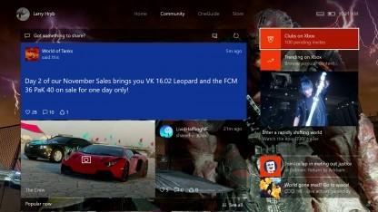 Das Holiday-Update für die Xbox One