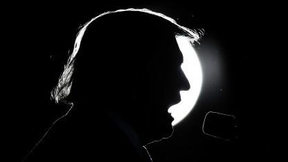 Donald Trump im Wahlkampf