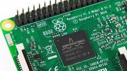 Die CPU des Raspberry Pi 3 unterstützt Aarch64.
