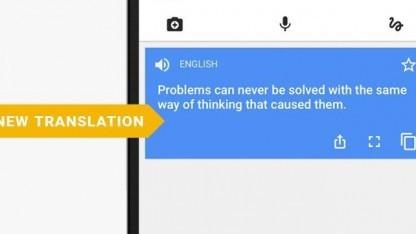 Der neue Algorithmus liefert weitaus bessere Übersetzungen.