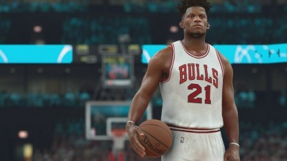 Basketballer in NBA 2K17