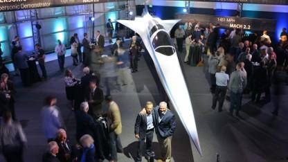 So soll der erste Prototyp für die XB-1 aussehen.