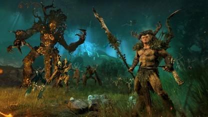 Artwork der Waldelfen-Erweiterung von Total War Warhammer