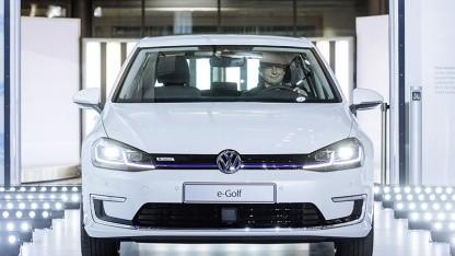 E-Golf: Höchstgeschwindigkeit auf 150 km/h limitiert.