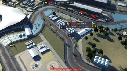 Rennparkours im Motorsport Manager