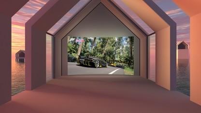 So sieht der Kinomodus für die Xbox One und Oculus Rift aus.