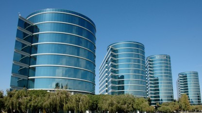 Die Oracle-Zentrale in Redwood-Shores in Kalifornien