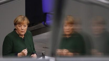 Im Bundestag: Merkel sieht Fake News als Problem für die Meinungsbildung.
