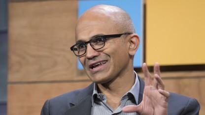 Microsoft-CEO Satya Nadella will den Smartphone-Markt nicht aufgeben.