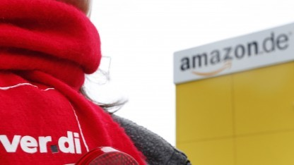 Verdi bestreikt Amazon am Black Friday.