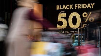 Am Black Friday gibt es viele Sonderangebote.