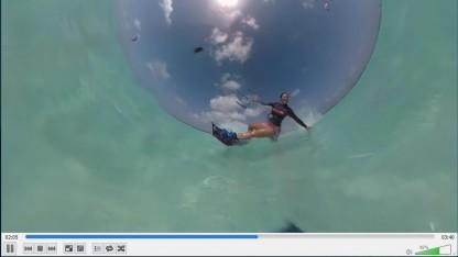 360-Grad-Video im VLC-Player