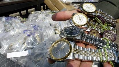 Gefälschte Markenuhren in Thailand