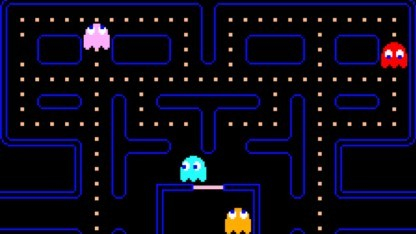 Pac-Man im Facebook Messenger