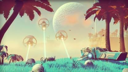 Formationsflug in No Man's Sky