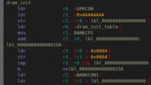 Code des Bootloaders