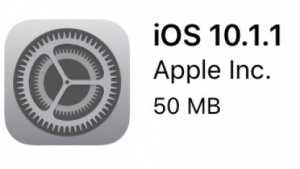 iOS 10.1.1 erschienen