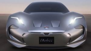 Fisker Emotion: Gedrungene Form und eine lange Front sind typisch für Fisker (Bild: Fisker Inc.), Karma Automotive