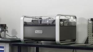 Wasserstrahlschneider Wazer: bearbeitet Kunststoff, Glas, Keramik oder Metall