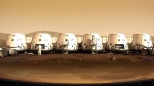 So bewirbt Mars One seine Mars-Besiedelungspläne.