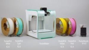 3D-Drucker Pocket Maker: 3D-Dateien vom Smartphone