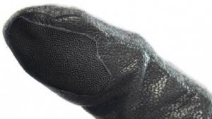 Die Taps-Sticker enthalten einen Fingerabdruck.