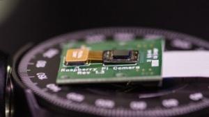 Hat den Durchmesser einer Ein-Cent-Münze: die Flatcam.