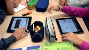 In Deutschland werden Tablets nur selten im Schulunterricht eingesetzt.
