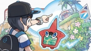 Artwork von Pokémon Sonne und Mond