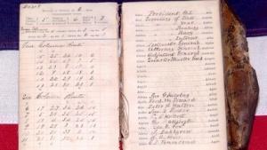Ein Codebuch aus dem US-Bürgerkrieg