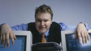 Kim Schmitz alias Kim Dotcom - der Gründer von Mega - in jüngeren Jahren.