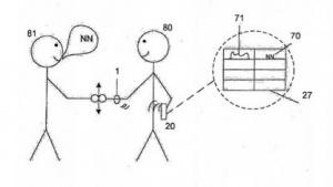 Die Funktionsweise des Sony-Armbandes - und höchstwahrscheinlich eine der besten Patentzeichnungen in der Patentgeschichte.