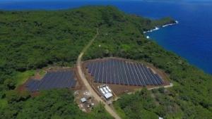 Solarkraftwerk auf Ta'u: über 400.000 Liter Diesel pro Jahr verbrannt