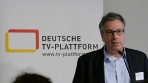 Andre Prahl vom Verein Deutsche TV-Plattform