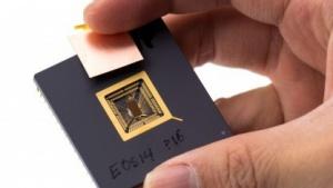 Prototyp-Chip mit RISC-V