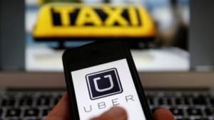 Uber App und Taxi