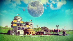 Basisbau in No Man's Sky