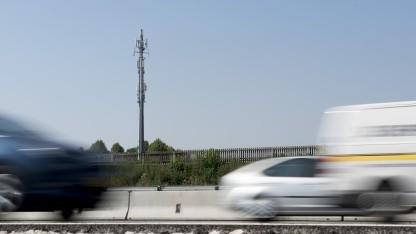 Das vernetzte Fahren erforderte eine permanente Funkverbindung der Fahrzeuge.