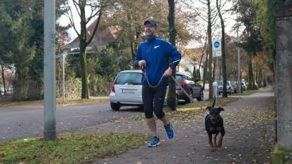 Golem.de-Redakteur Peter Steinlechner sammelt schon fleißig Fitnessdaten.