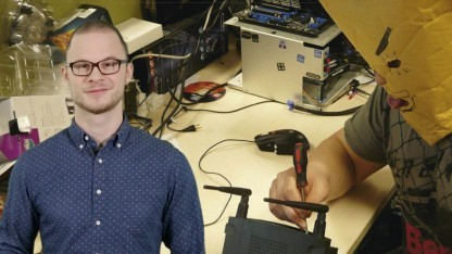 Angreifer haben diese Woche Router lahmgelegt, allerdings andere als auf dem Symbolbild