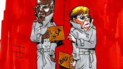 So stellt sich Wikileaks die Geheimdienstzusammenarbeit zwischen den USA und Deutschland vor.