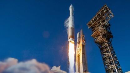 Eine Atlas-V-Rakete beim Start: Zukünftig soll sie jeder im Internet bestellen können.