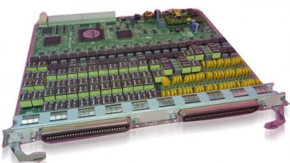 Vectoringkarte von Huawei für das DSLAM