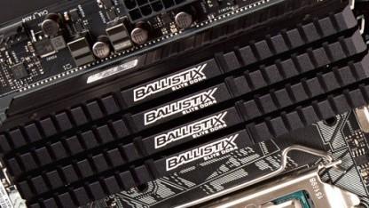Vier DDR4-Speichermodule