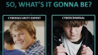Europol und das FBI zielen mit ihrer Botschaft auf junge Hacker.