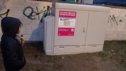 Netzausbau der Telekom im Umland von Berlin