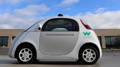 Autonom fahrendes Google-Auto