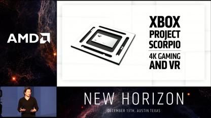 Das SoC der Xbox Scorpio wird von AMD entwickelt.